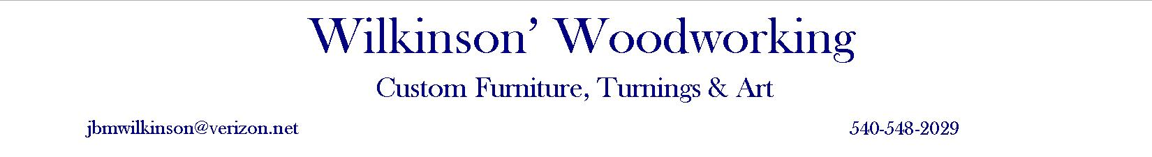 Wilkinson's Woodworking
